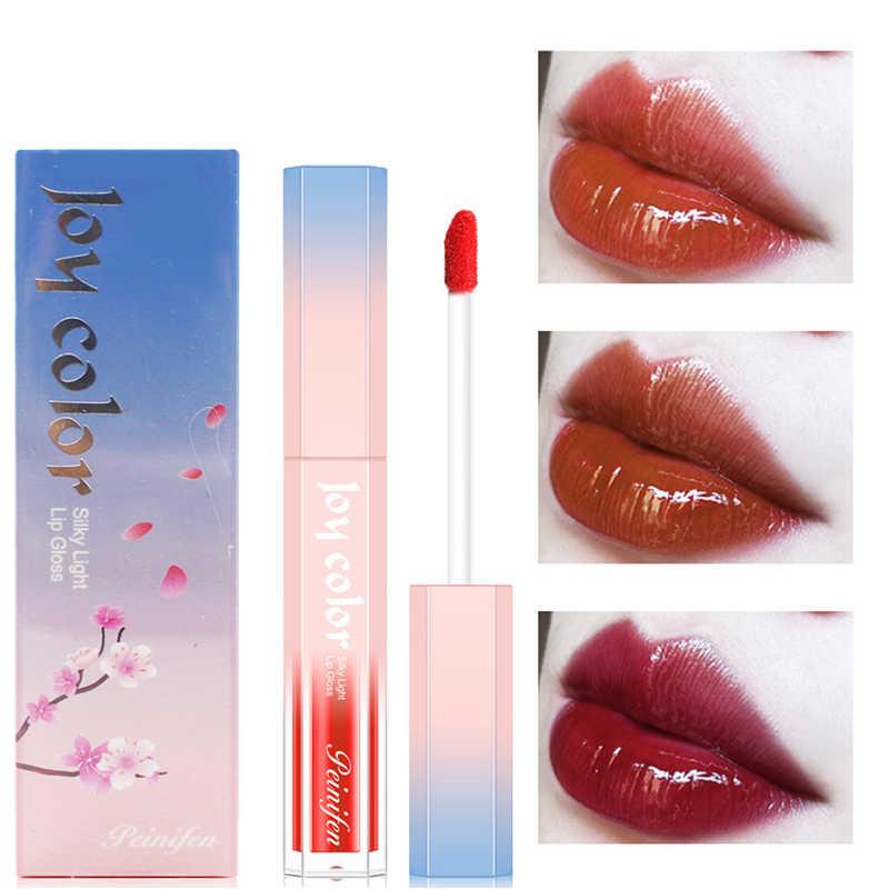 口紅保湿液体化粧リップ釉薬ロング持続セクシーな口紅フレンチレトロフェードは簡単に甘いベルベットリップグロス