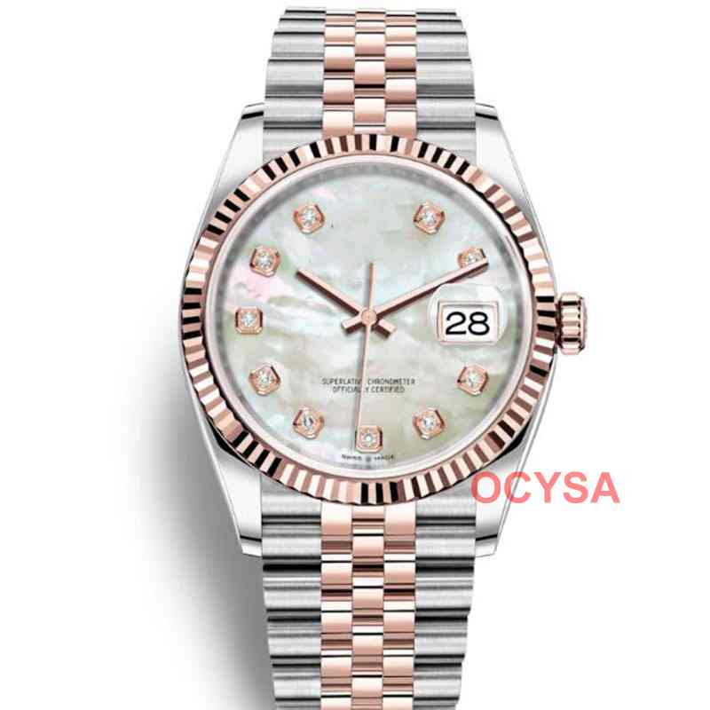 36 Mm  Fashion Aaa Automatic Luxury Mens Mechanical JUBILEE BRACELET Women Designer Ladies Wristwatch Watches Watch Men