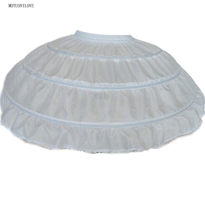 Big Wide White Short Petticoats Underskirt For Ballet Dress Ball Gown Tie Rope 3 Hoops Crinoline Skirt Slip Can Can Para Vestido