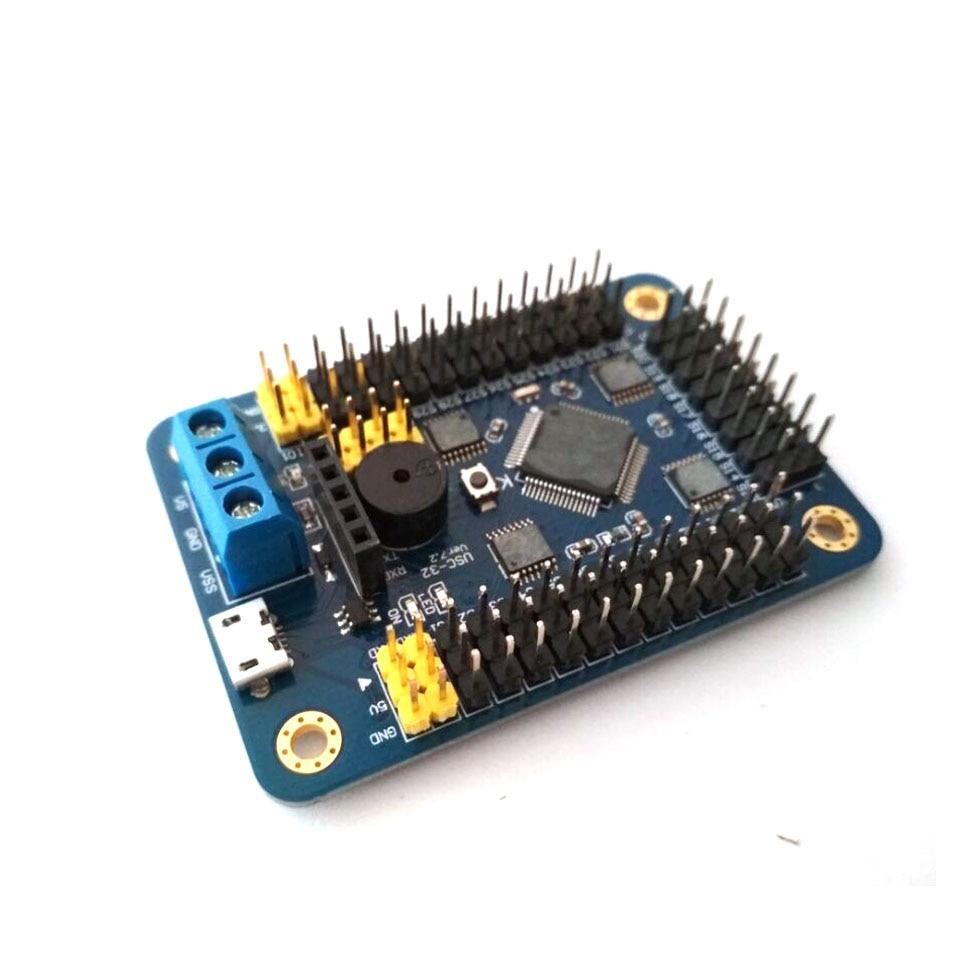 32 Channel Servo Controller Board & Robot PS2 Controller & Receiver Handle For Arduino Robot DIY Platform Servo Control