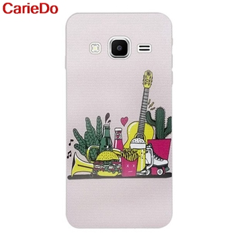 Carie-Lemon 3 Silicon Soft TPU Case Cover For Samsung Galaxy Core Grand Prime Neo Plus 2 G360 G530 I9060 G7106 Note 3 4 5 8 9 image