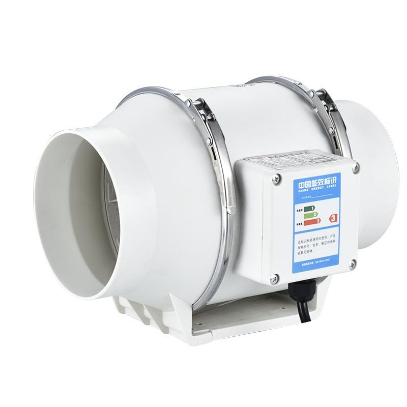 4 inch Exhaust Fan Wall Window Hood fan for bathroom Home Silent Ventilator Pipe Duct Fan Ventilate Air Cleaning Extractor 1