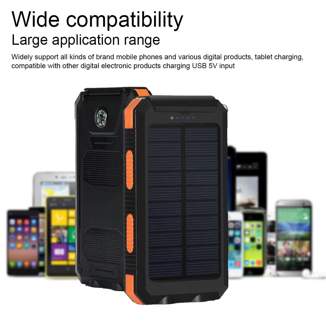 Chargeur de batterie externe extérieur 20000mAh