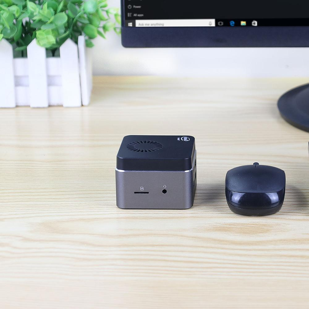 BEBEPC Portable Mini PC Intel Celeron N4100 Quad Cores 8GB LPDDR4 Windows 10 2.4G/5G Dual Band Wifi Bluetooth 4.2 HDMI 2.0 2*USB-2
