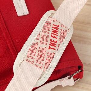 Image 2 - Kpop Bangtan Final Seoul Encore Field Same Paragraph Crossbody Package Shoulder Bags Red Canvas Bag Makeup Coin Purse