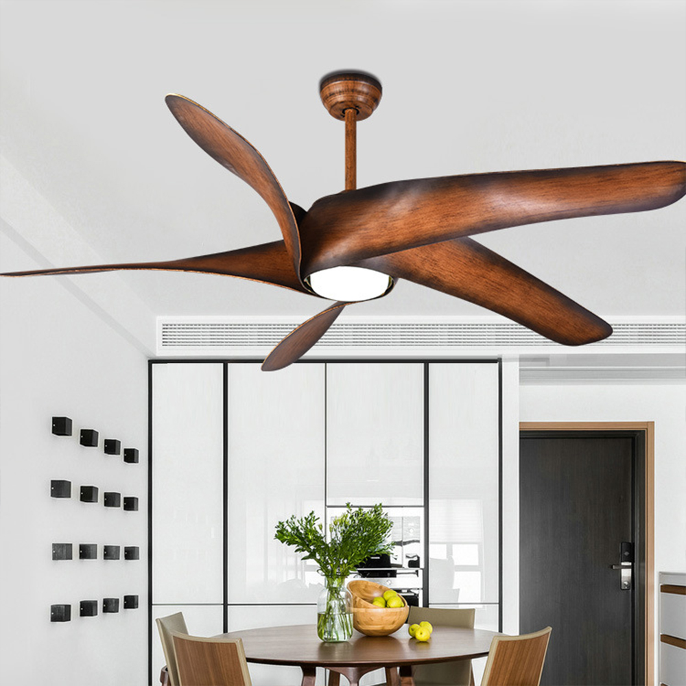60 Inch Vintage Ceiling Fan With Lights