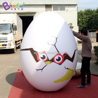 Bingo® 1.8m High Inflatable Air Sealed Egg with Chick Toy/Inflated PVC Cartoon Recreation/ Fun kids