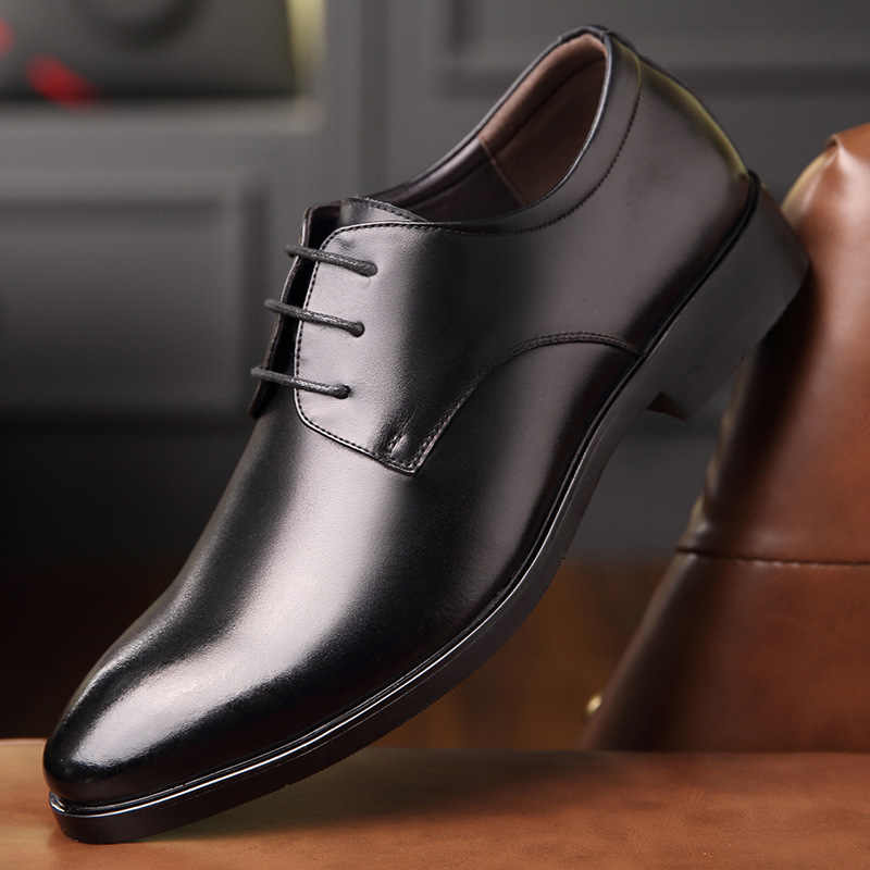 Mazefeng 2019 Leather Casual Men Shoes