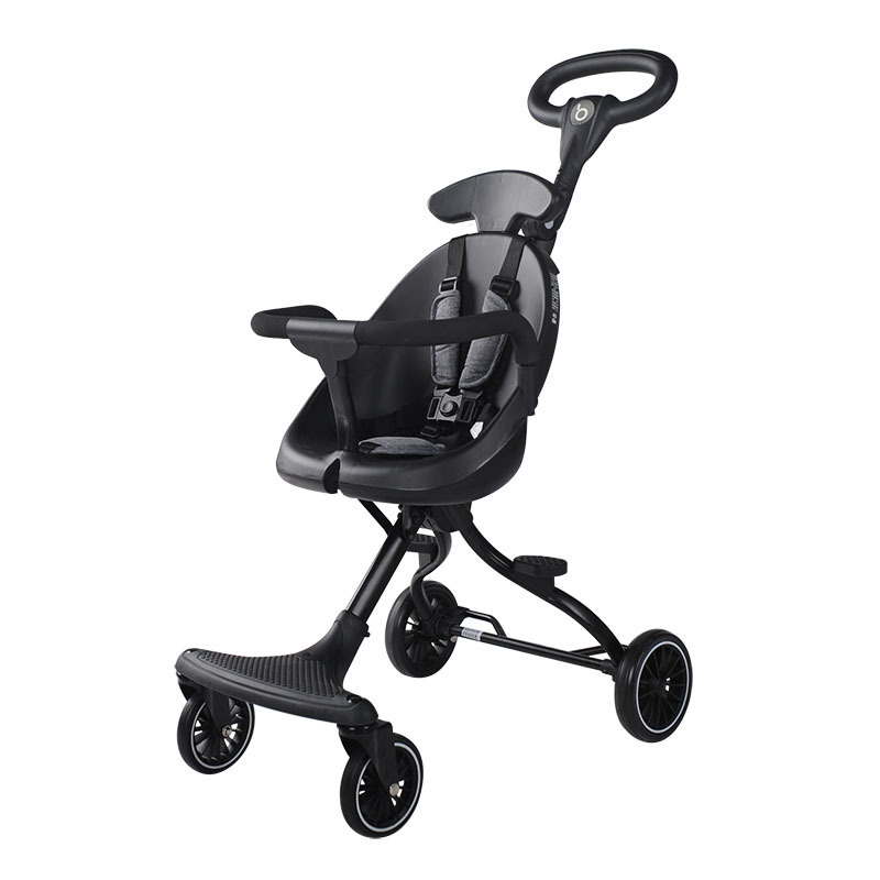 Slip baby artifact children's two-way baby stroller baby ultra light folding high landscape travel cart
