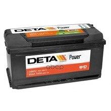 Аккумуляторная Батарея 85ah Deta Power 12 V 85 Ah 760 A Etn 0(R) B13 352x175x175mm 20.4kg DETA арт. DB852