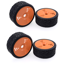 2Pcs / 4Pcs 1/8 Scale RC On Road Snow Sand Paddle Tires Tyre Wheel for 1:8 HSP HPI Redcat Car