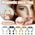 2021 поддельные для пирсинга носа кольца сплава нос пирсинг кольцо для пирсинга перегородки носа кольца для женщин, ювелирное изделие для тел...