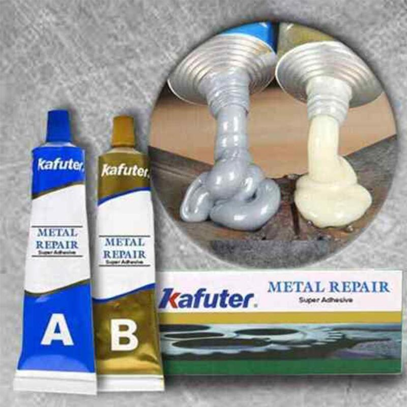 Strong AB Adhesive Gel Industrial Repair Agent Metal Repair Adhesive Glue DIY Metal Repair Glue Casting Metal Crackle Repair Gel