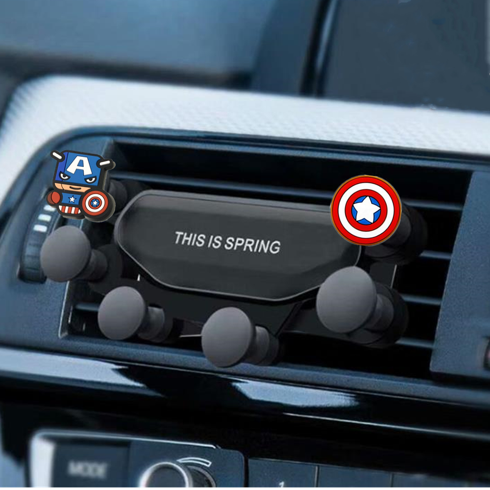 Car Phone Holder Gravity Bracket Mount Auto Air Vent Grip Gravity Car Mount Holder Gravity Bracket For Cell Phones Smartphone