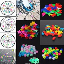 Gifts Cycling-Accessories Bike Bicycle-Wheel-Spoke Kids Decoration Plastic 36pcs/Set