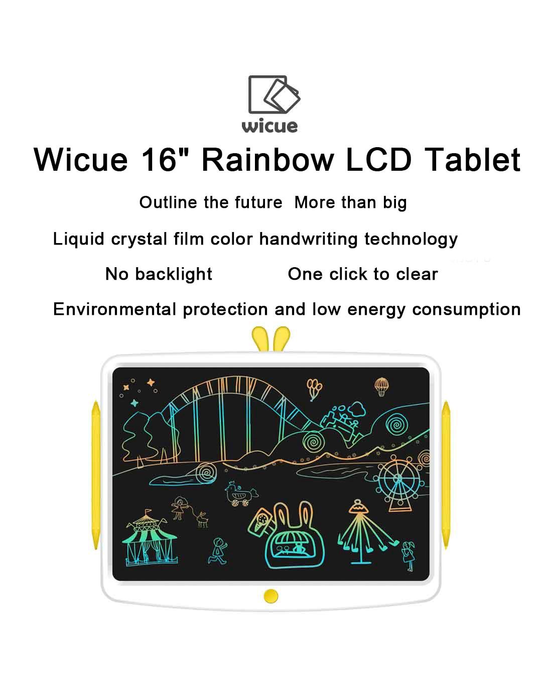 placa de escrita tablet para criatividade das