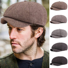 SAGACE Fashion Retro Cap Newsboy Beret Hat Autumn Winter Hats For Men's International Superstar Jason Statham Male Model A30920(China)