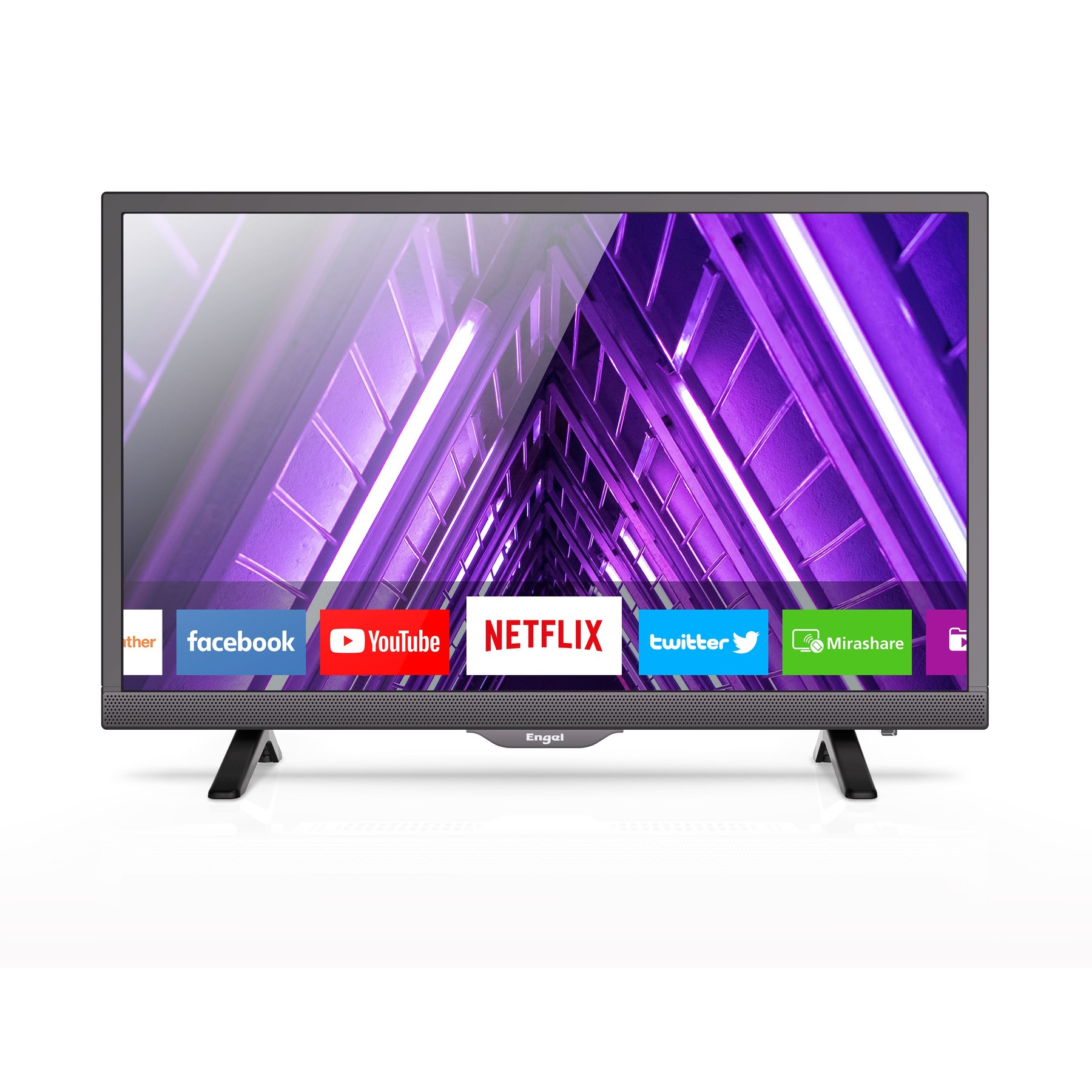 Tv Televisión LED 24 LE2460SM  Smart TV Con  WiFi Netflix Y Youtube