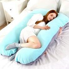 Объемная u-образная Подушка для беременных женщин, подушка для кормления, Подушка для беременных, подушка для всего тела, PP хлопковая Подушка для беременных