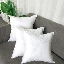 Постельные принадлежности квадратные PP хлопок подушки для домашнего декора Подушка Декор интерьера белый размером 45*45 см для автомобиля диван кресло подушки для дивана decoratif