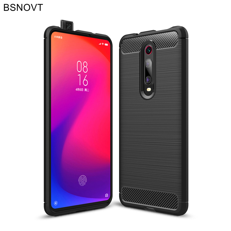 For Xiaomi Redmi K20 Case Soft Silicone Hard PC Dirt resistant Case For Xiaomi Redmi K20 Case For Redmi K20 Cover Funda BSNOVT in Fitted Cases from Cellphones Telecommunications