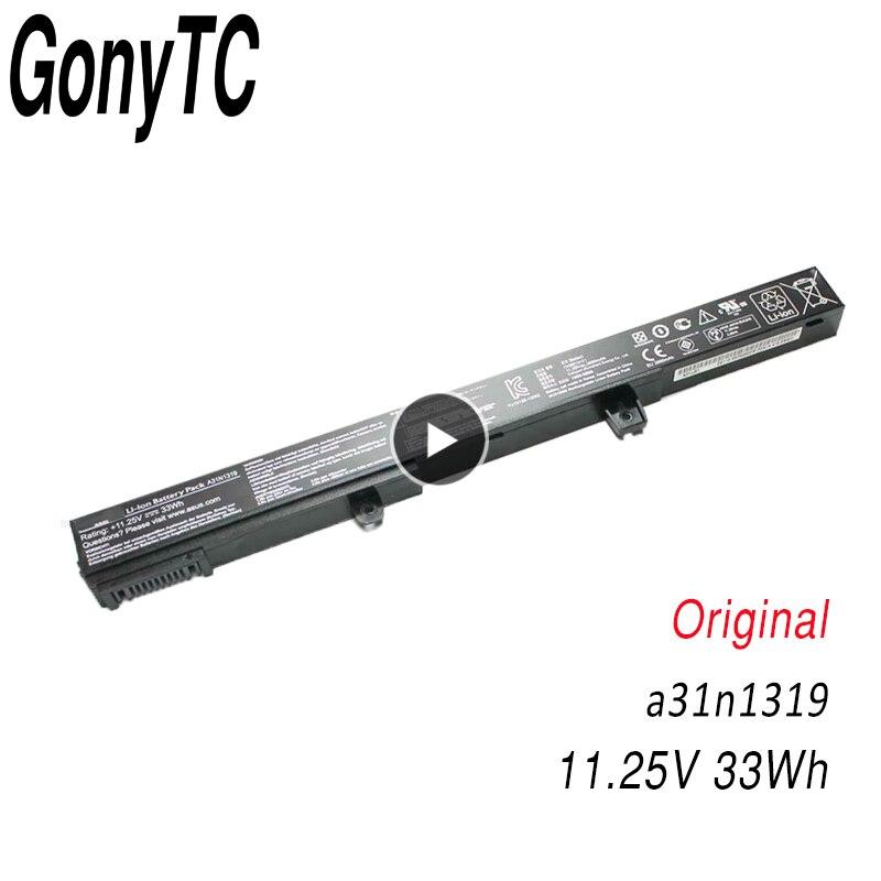 Original Laptop Battery A41N1308 A31N1319 0B110 00250100 X551M For Asus X451 X551 X451C X451CA X551C X551CA Series Wholesale