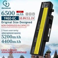 Golooloo 6500MAH 6 セルノート Pc バッテリー L10L6Y01 B560 l09l6d16 レノボ ideapad Y460A Y560A Y560P Y560G Y560 -