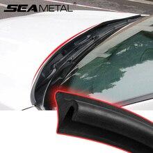 Exteiror tira de guía para capó de coche, sellador de parabrisas delantero para reducir el ruido, tira de guía de viento, productos para automóvil