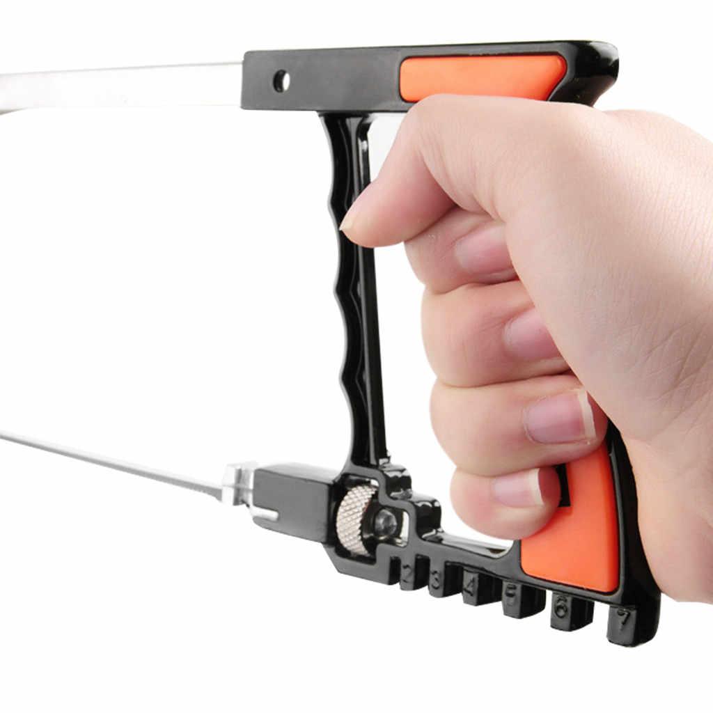 Мульти-функциональный прочная металлическая конструкция пилы ручной комплект для инструмент для деревообработки обработки DIY деревообрабатывающий ручная пила незаменимый инструмент