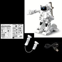 2.4G Somatosensory Remote Control Battle Robot Toy Two-player Competitive Fight Robot Model Toys For Children's Gift(China)