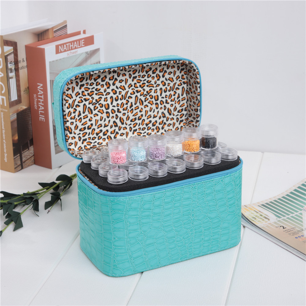 HUACAN 84Grids DIY Diamond Painting Storage Box Accessories Diamond Embroidery Mosaic Tool