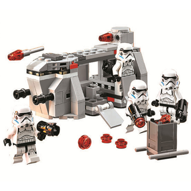 STAR WARS Royal Army Transport Aircraft Clone Troops Mini Building 2