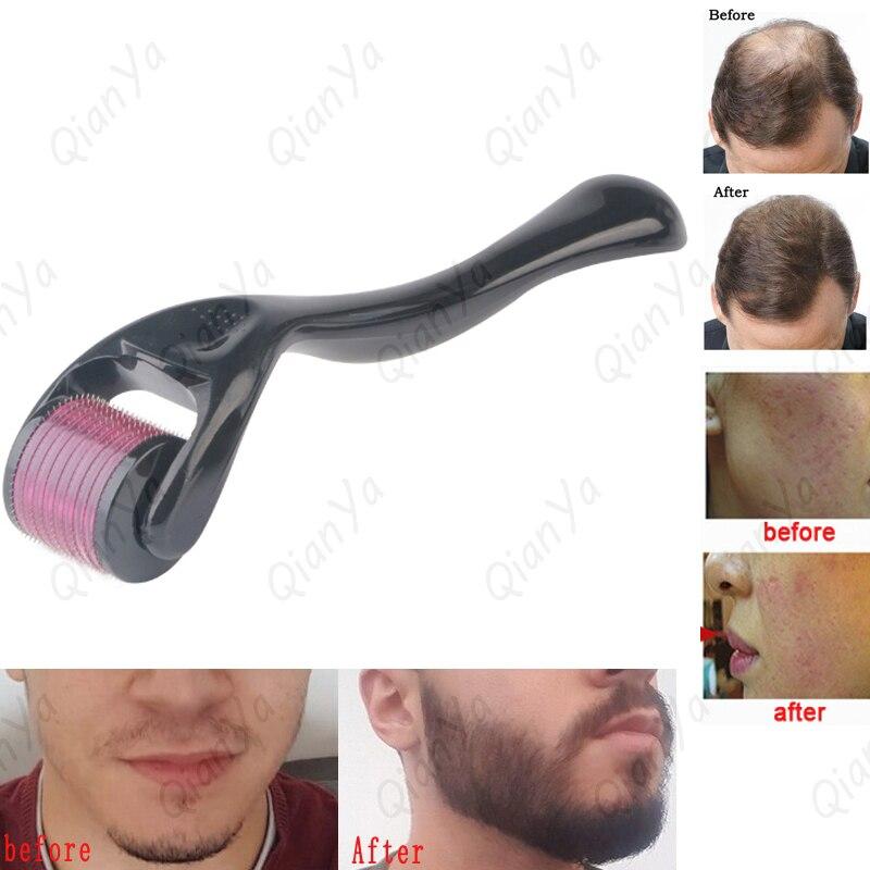 Mezoroller Derma roller DRS540 Micro aiguille visage soins de la peau repousse des cheveux barbe croissance Anti perte de cheveux traitement amincissement recul