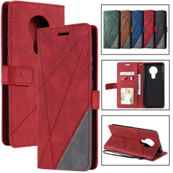 Splicing Embossing Flip Leather Case Cover For Nokia 1.3 2.3 5.3 3.2 6.2 7.2