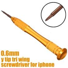 Y Tip 0,6 мм Трехточечная отвертка инструменты для ремонта iPhone XR XS Max X 8 7 Plus Магнитный наконечник для Apple Watch 1 2 3 4 Инструменты для ремонта