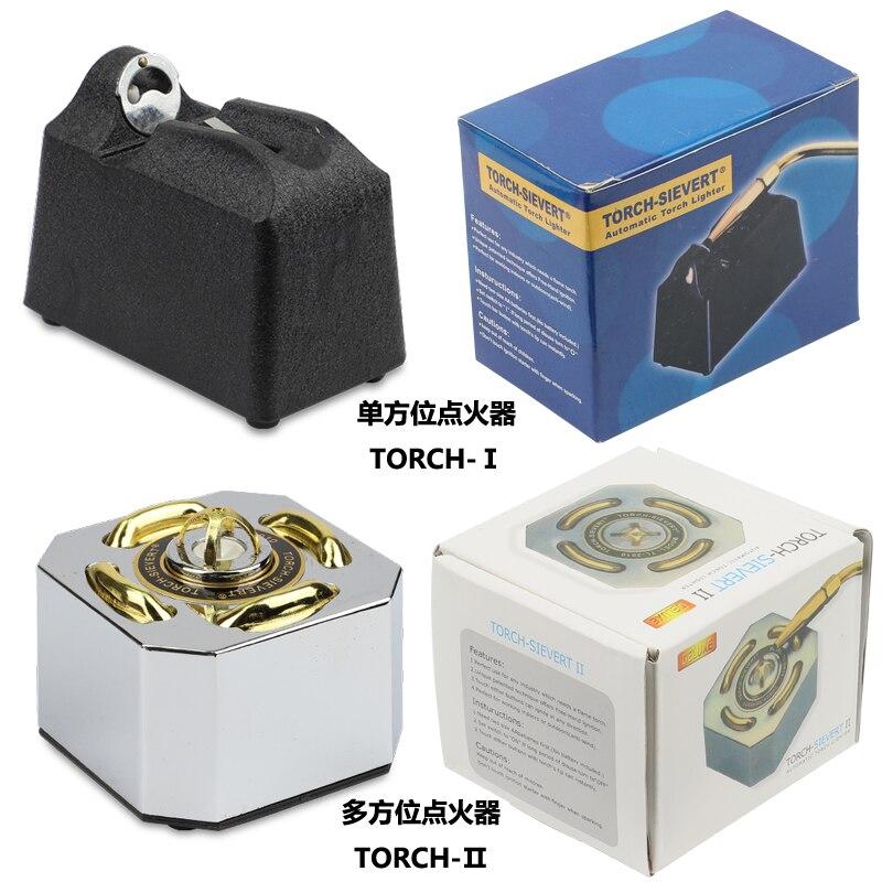 Электронная зажигалка с зажигателем, автоматический фонарь для ювелирных изделий, газовая сварка, золотистого/серебристого цвета, плавиль...