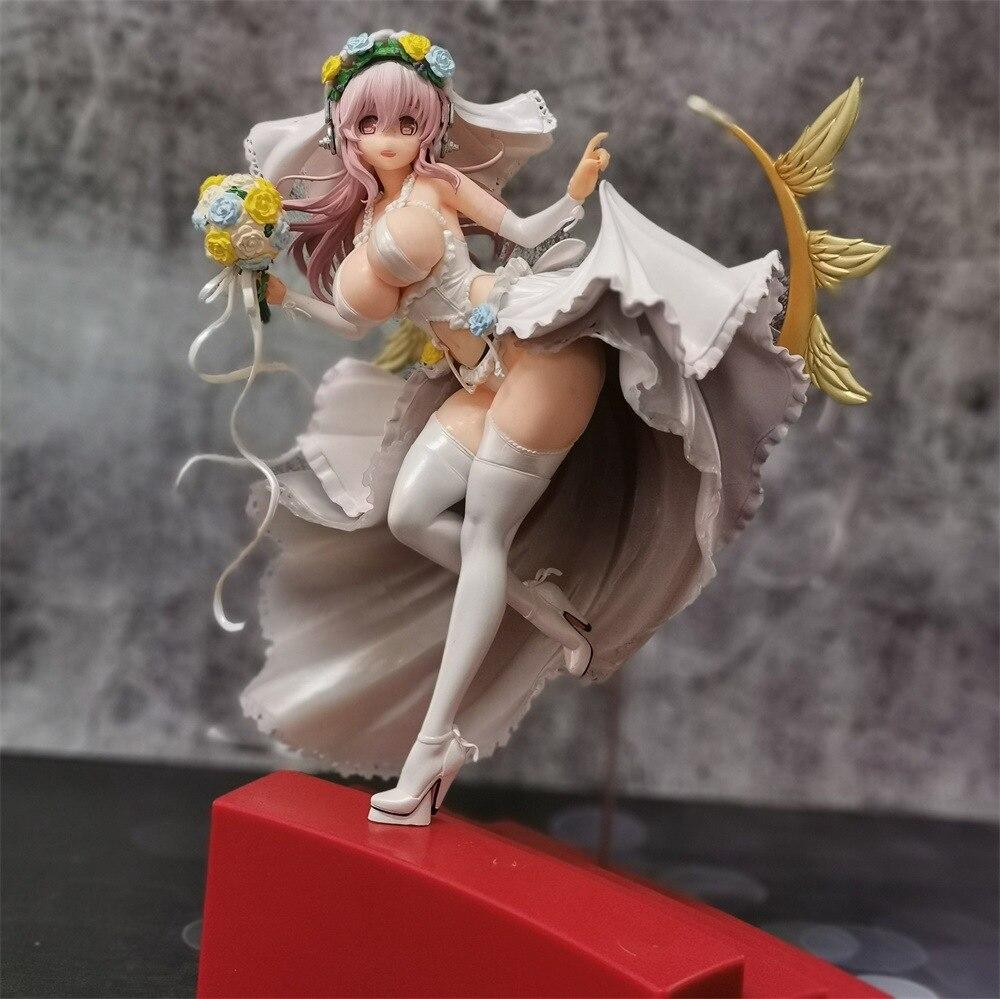 SUPERSONICO Figure jouets 10th anniversaire de la nouvelle édition de luxe SUPERSONICO avec robe de mariée Pvc modèle jouets décoration - 6