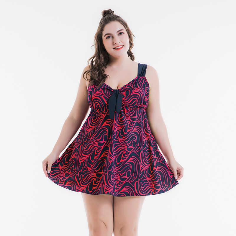 Wanita Plus Ukuran Tankini Baju Renang untuk Wanita Pakaian Renang Baju Renang Perut Kontrol Dua Potong Berenang Baju Renang 15XL Pakaian Renang 72