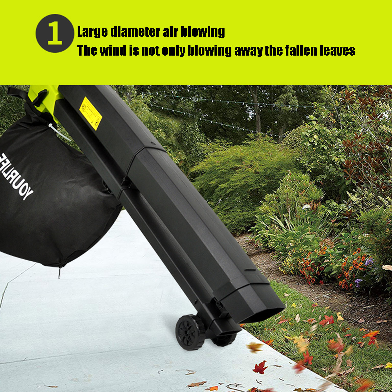 Tools : 3000W Leaf Vacuum 3 In 1 Multi-function Durable Electric Garden Leaf Blower With 45L Collection Bag Leaf Snow Mulcher 220-240V