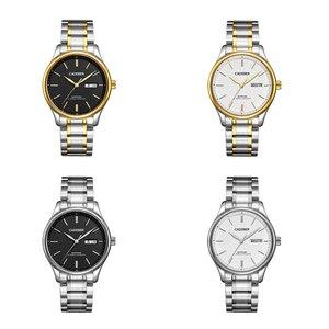 Image 5 - Мужские механические часы CADISEN 2019, роскошные брендовые автоматические механические часы, военные деловые водонепроницаемые мужские часы с календарем