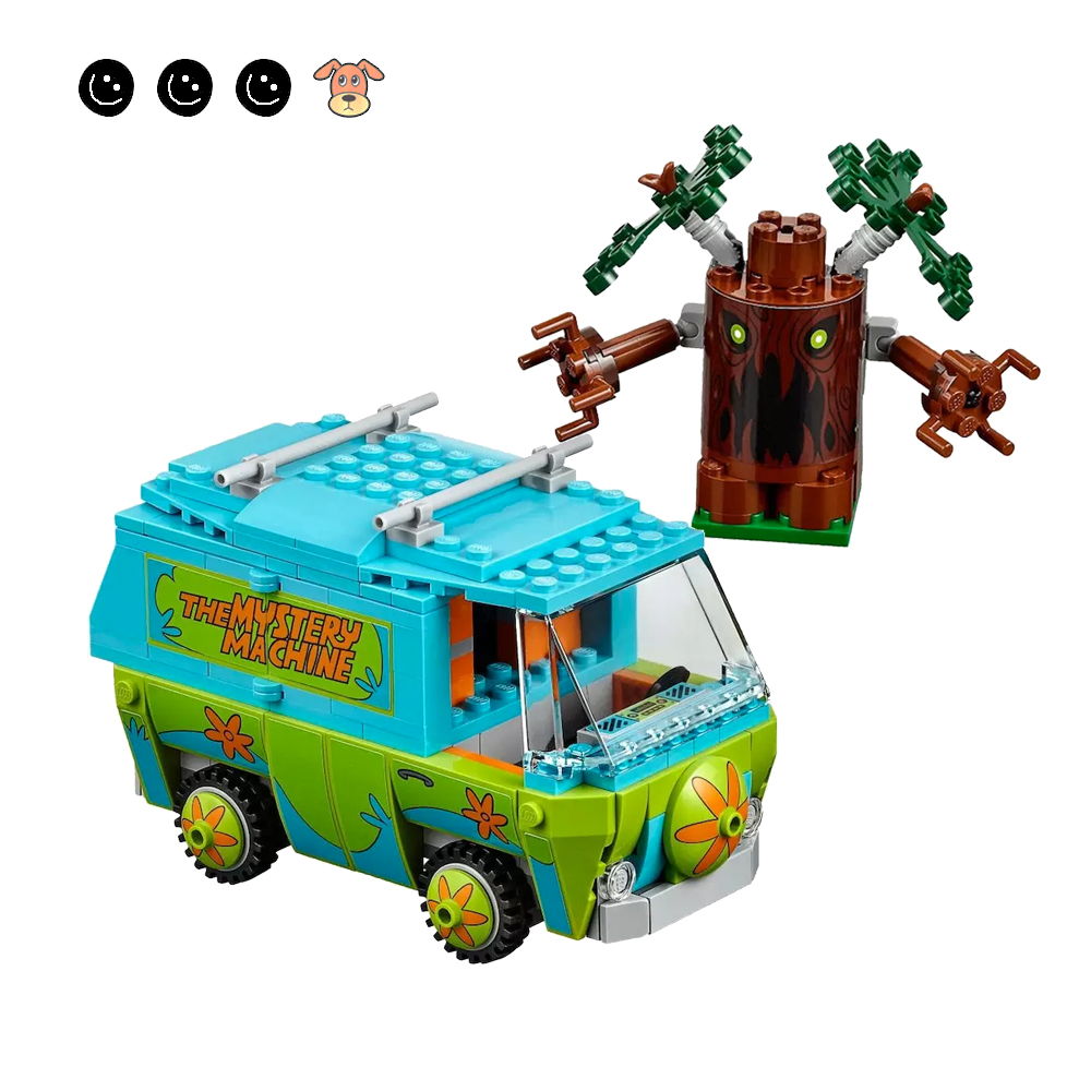 Scooby Doo The Mystery Machine Building Blocks 75902 Figures Bricks Children Toy