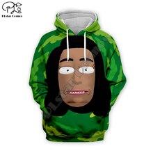 New Rick and Morty 4 3D Full print Men Camouflage Hoodie women trippy Sweatshirt streetwear unisex zipper jacket pullover tshirt