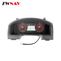 12.3 Android 9 Instrument Panel Replacement Dashboard Entertainment System For Toyota Land Cruiser 2008 2019 multimedia player