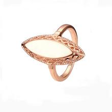 FJ 2 Style gładkie pierścienie powierzchniowe mężczyźni kobiet 585 różowe złoto kolor tkania bez kamienne pierścienie tanie tanio Copper Kobiety Metal Na imprezę Wnęka pierścienia moda TRENDY Obrączki ślubne ROUND unJZ0072 Pierścionki Well-packed in OPP bag Pouches