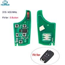 5 כפתורי 315MHz/433MHz ID46 שבב עבור שברולט Cruze מליבו Aveo ניצוץ מפרש רכב מרחוק מפתח אלקטרוני המעגלים