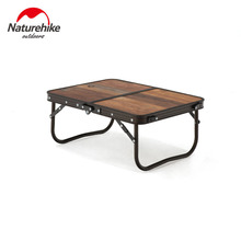 Naturehike Picnic Table Aluminum Alloy Camping Table Mini Portable Table Dining Table BBQ Outdoor Table Folding Table Bed Desk