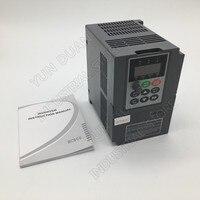 2HP 1.5KW 220V 단상 1PH 입력 7A 벡터 VFD 범용 주파수 변환기 CE CNC 라우터 스핀들 모터 팬