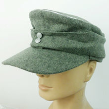 Field-Cap WWII Reproduction Ww2 German Military-Store WH Officers Wool EM In-Size