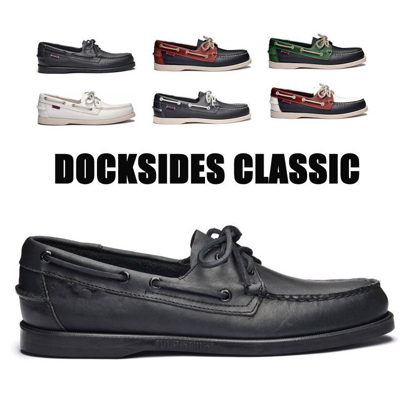 Men Genuine Leather Driving Shoes,Docksides Classic Boat Shoe,Brand Design Flats Loafers For Homme Femme Women 2020A002