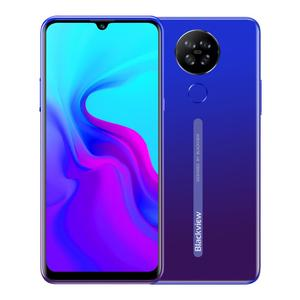 Blackview New A80 6.21' Waterdrop Screen Android 10.0 GO Quad Rear Camera Mobile Phone 2GB+16GB Cellphone 4200mAh 4G Smartphone